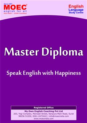 Spoken English in Surat , Master Diploma